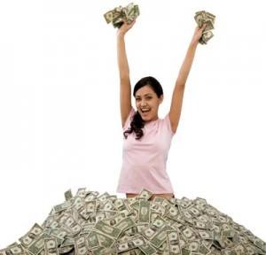 Secure Platform Fund Money Woman
